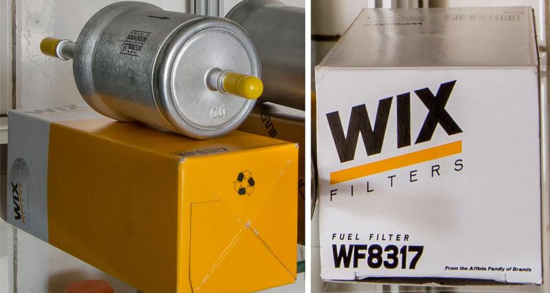 Замена топливного фильтра шкода рапид 1.6
