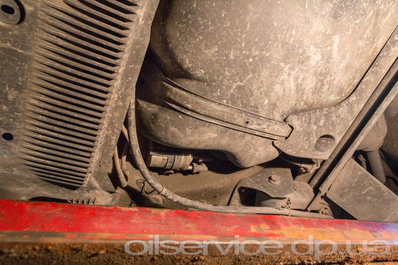 Замена топливного фильтра Skoda Rapid - Фото 6